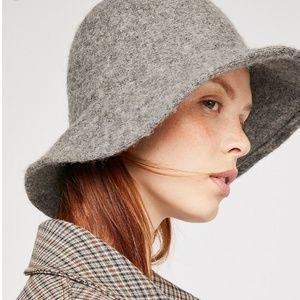 Free People Wool Bucket Hat